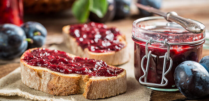 Toast-And-Plum-Jam