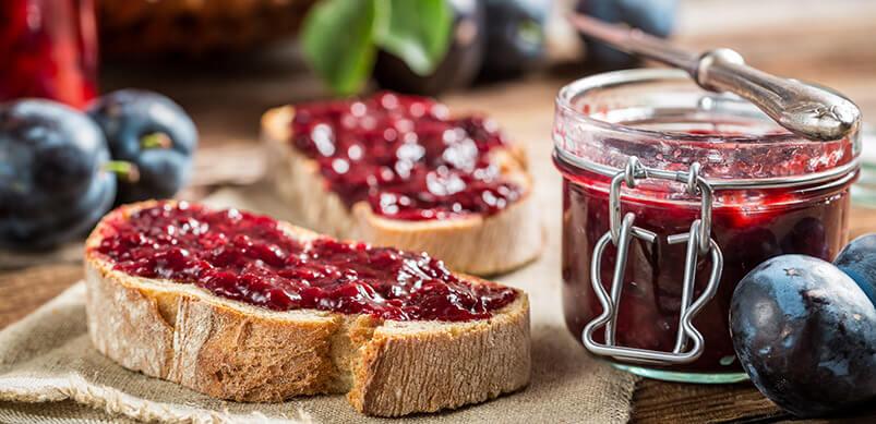 Toast-And-Plum-Jam