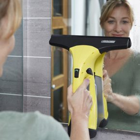 pulizia specchi