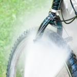 Lava facilmente la tua bicicletta a casa con un'idropulitrice Karcher!